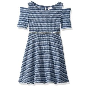Youngland Girls' Little Knit Skater Dress, 6X